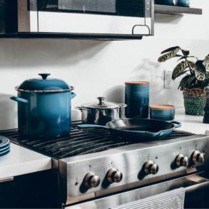 kleine Küche organisieren