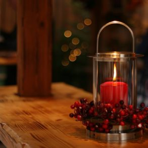 schlichte weihnachtsdeko