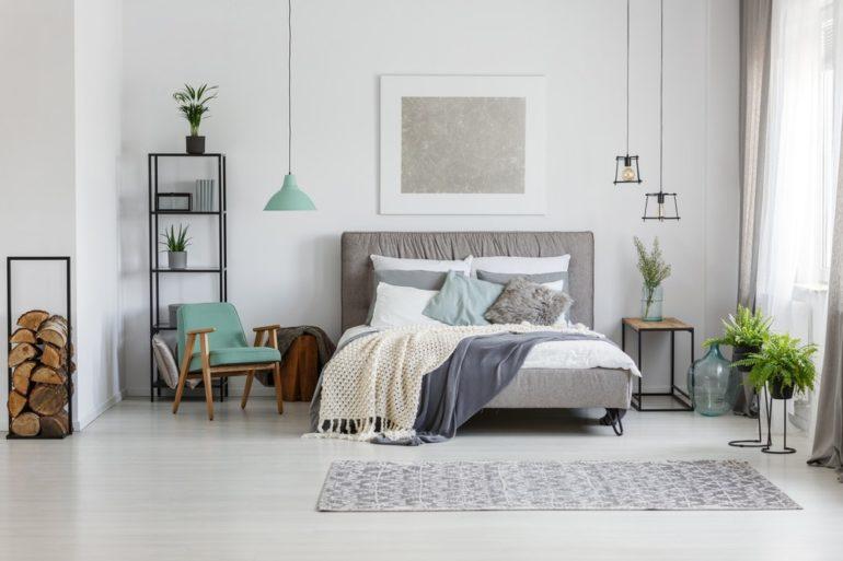 Schlafzimmer im schwedischen Stil: Skandi Zimmer