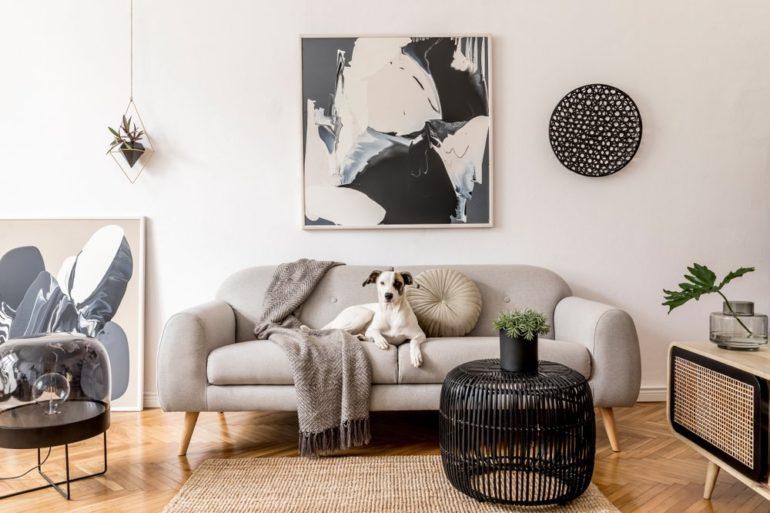 Bilder für das Wohnzimmer: Wohnzimmer modern