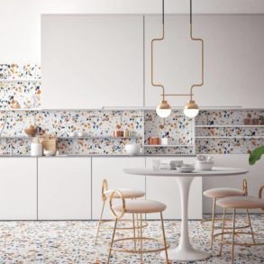 Terrazzo Muster: Küche mit Terrazzo